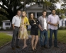 hart of dixie cast (scott porter, jaime king, rachel bilson, wilson bethel and cress williams)