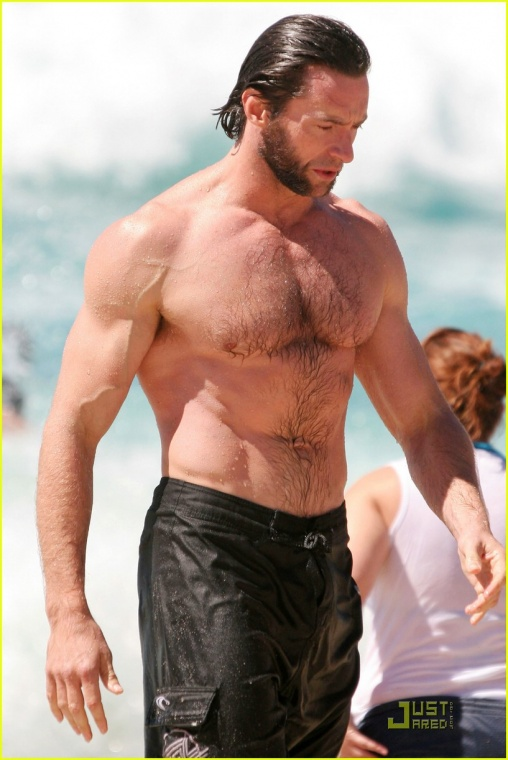 Pics Photos - Funny Wolverine Hugh Jackman Body