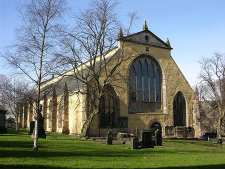 Greyfriar Kirk Grave