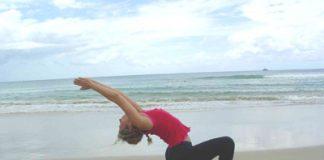 yoga doing