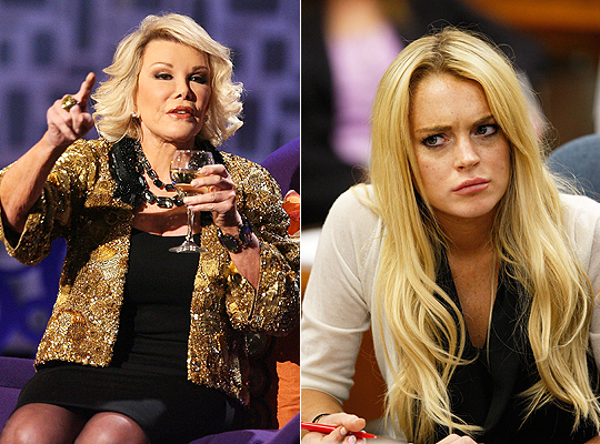 Joan Rivers vs. Lindsay Lohan