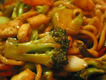 Tofu and Vegetables Stir Fry