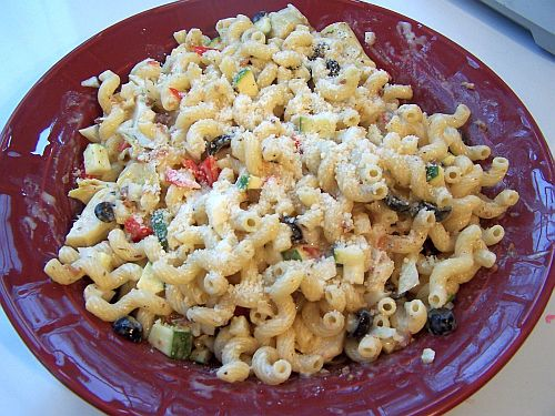 easy pasta salad italian dressing clinic when i bring this super salad ...