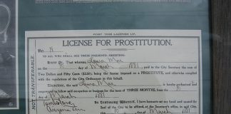 Prostitution certificate