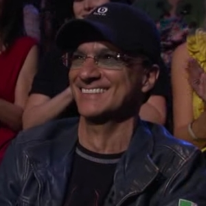 Jimmy Iovine (the chairman of Interscope Records) was in the house.