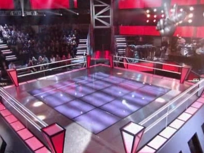 The Boxing Ri... er... The Stage.