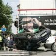 Cars crash