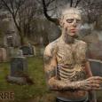 Scary Skull Tattoo