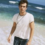 Ian on the beach.