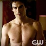 Ian Somerhalder as Damon Salvatore (still from The Vampire Diaries)