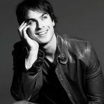 Ian's gorgeous smile.