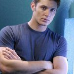 Jensen with his arms crossed.