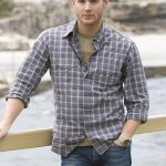 The more casual side of Jensen Ackles.