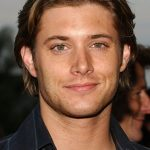 Jensen's longer hair.