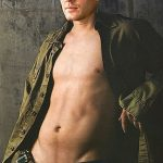 Bare Chested Jensen (click for full image)
