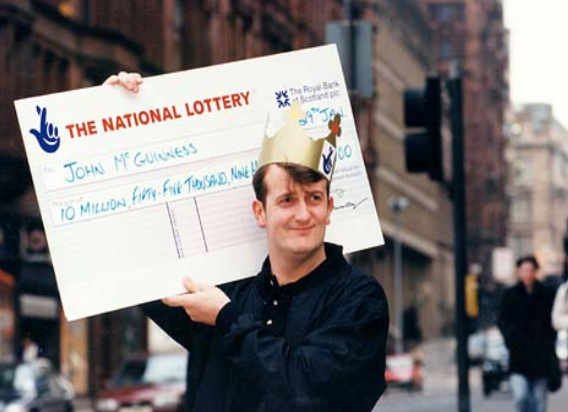 johnG lottery winner