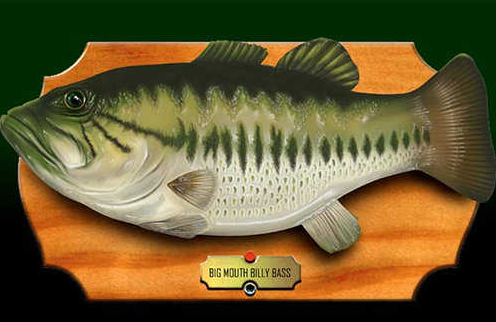 Ridiculous ideas that made millions for Big mouth billy bass singing fish
