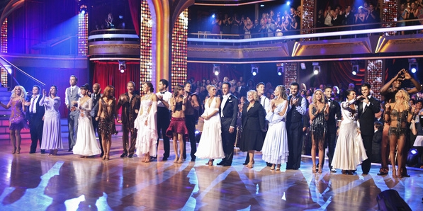 dancing with the stars season 13 week one performance show cast