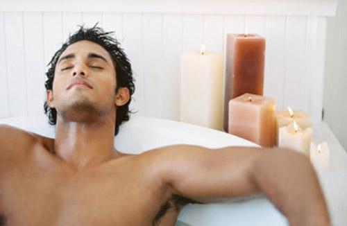 мужчина ванне голый фото