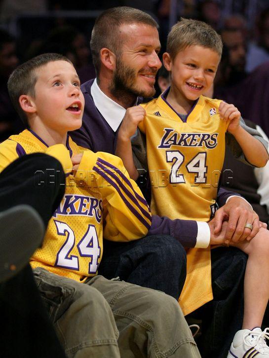 David Beckham kids