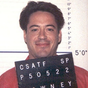 Robert Downey Jr. 1999 Mugshot