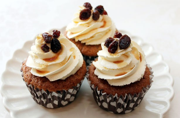 Rum-and-raisin-cupcakes-recipe