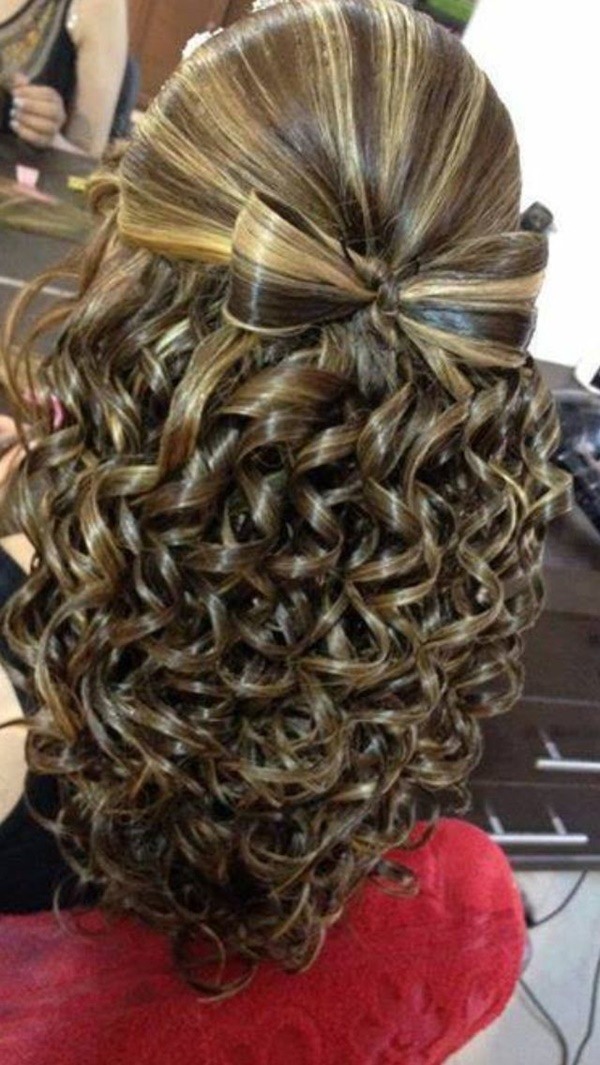 Attractive Party Hairstyles For Girls - Hairstyle of girl for party