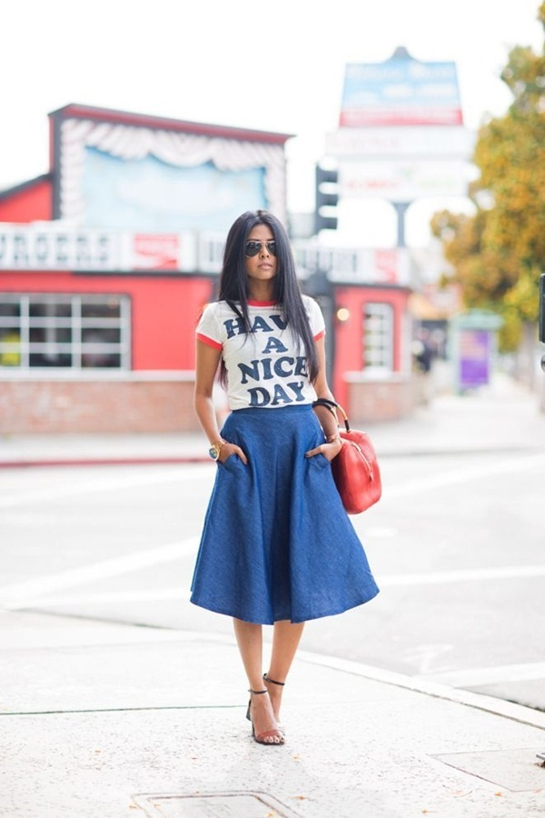 denim skirt outfits (15)