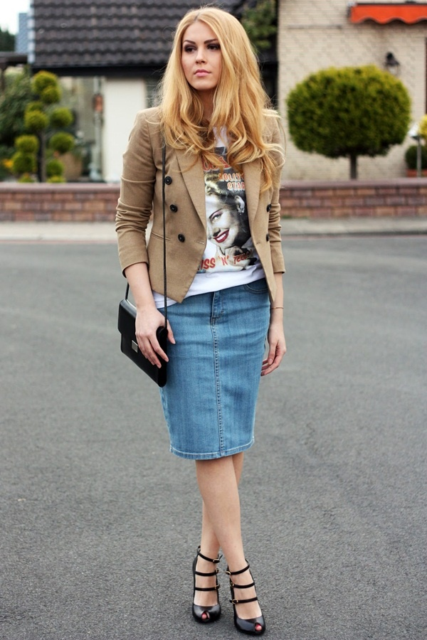 denim skirt outfits (50)