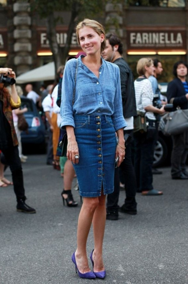 denim skirt outfits (51)