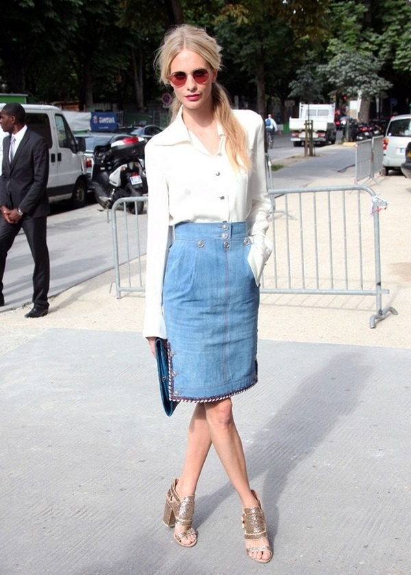denim skirt outfits (60)