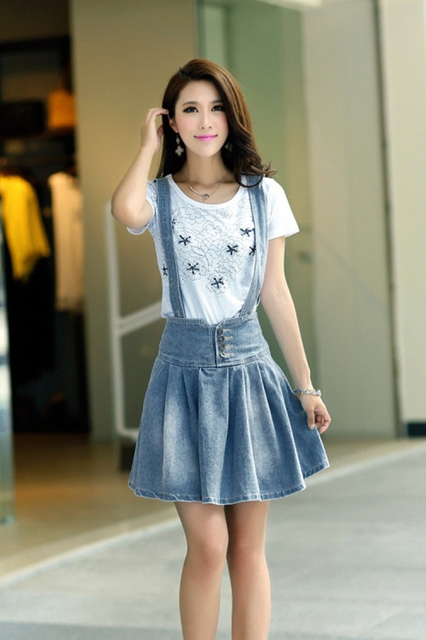 denim skirt outfits (66)