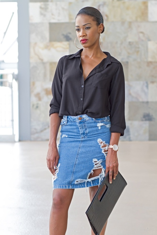denim skirt outfits (68)