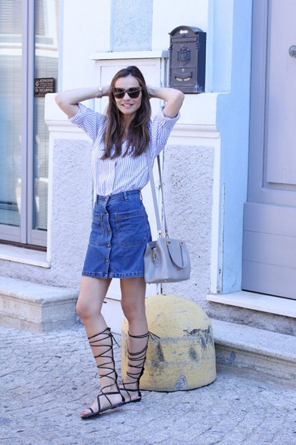 denim skirt outfits (73)