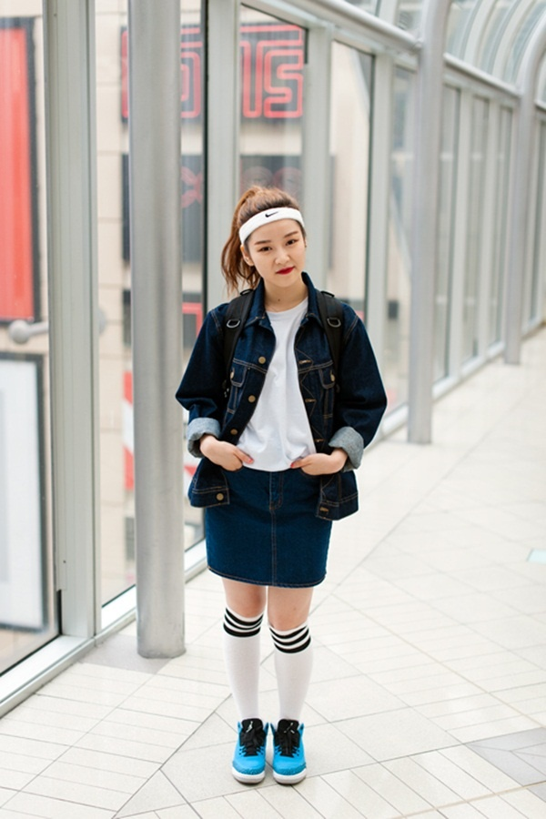 denim skirt outfits (77)