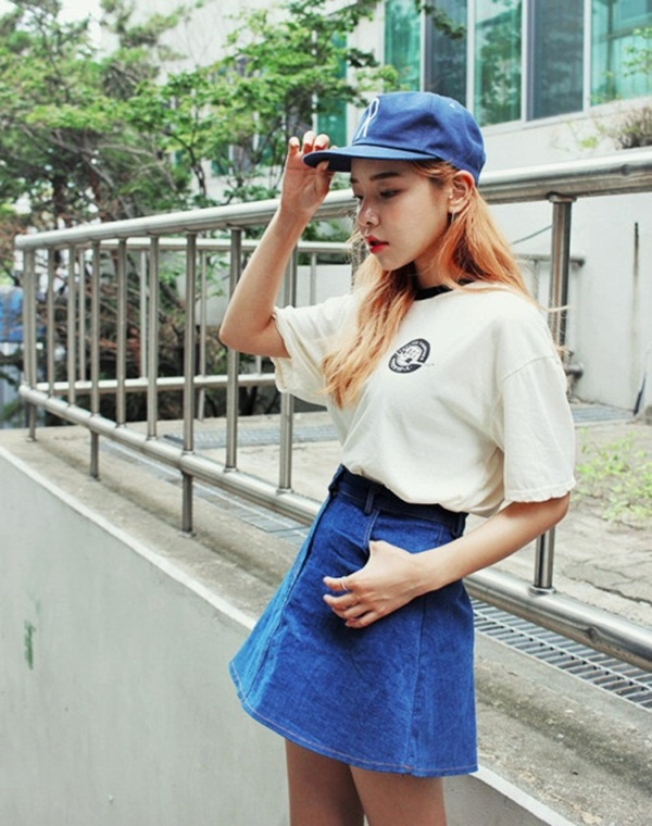 denim skirt outfits (83)