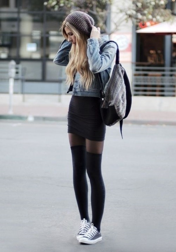 Summer Outfits With Jeans And Converse