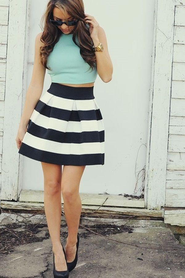 crop top outfits for girls (1)