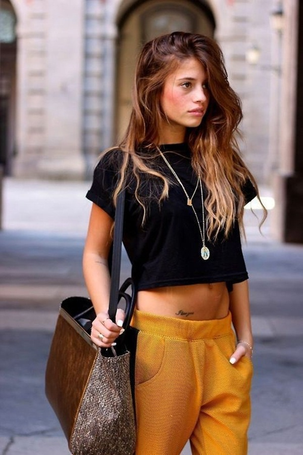 crop top outfits for girls (22)