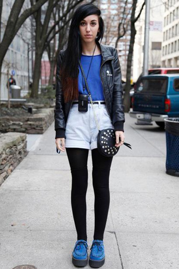 what to wear with high waisted shorts (65)