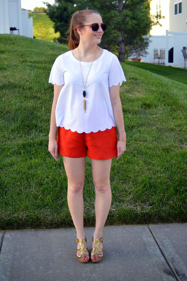 what to wear with high waisted shorts (77)