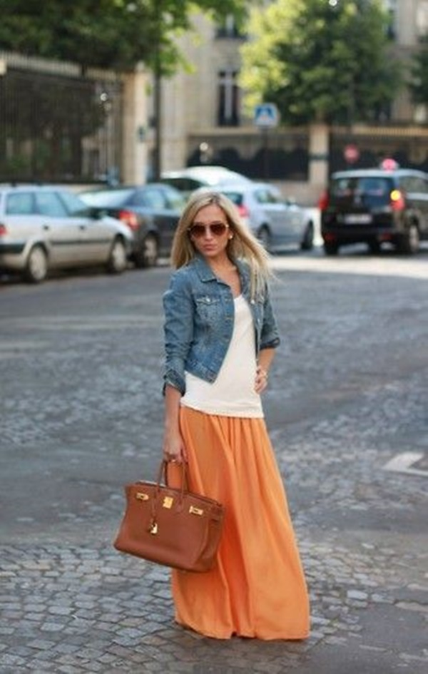 impressive levi's long denim maxi skirt