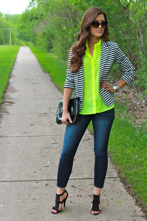 wonderful neon green pantone color