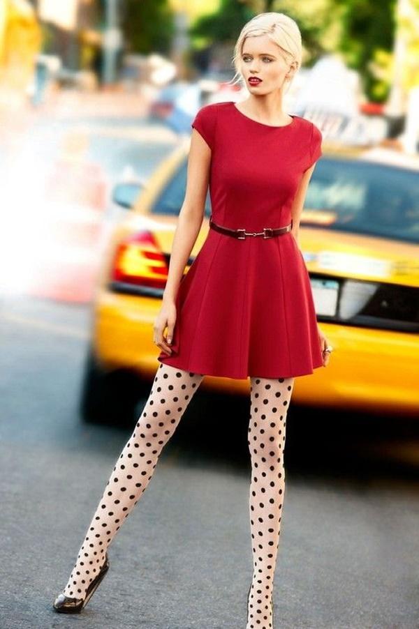 polka dots outfits (4)