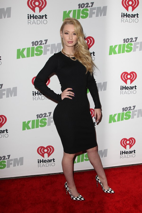 2014 Kiis FM Jingle Ball Concert Featuring: Iggy Azalea Where: Los Angeles, California, United States When: 06 Dec 2014 Credit: FayesVision/WENN.com