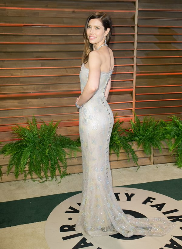 Celebrities attend 2014 Vanity Fair Oscar Party at Sunset Plaza. Featuring: Jessica Biel Where: Los Angeles, California, United States When: 02 Mar 2014 Credit: Brian To/WENN.com