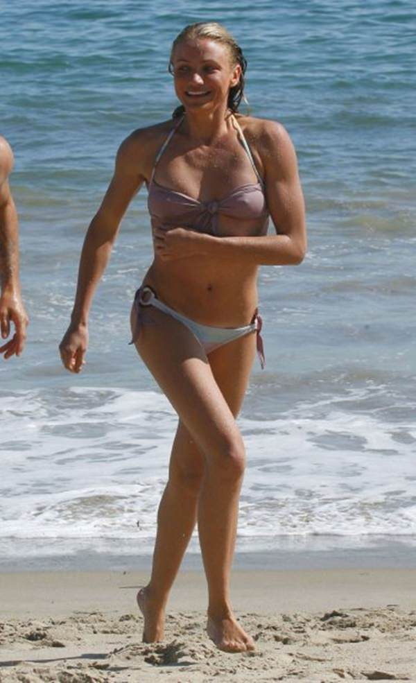 Think, that Cameron diaz see through bikini remarkable