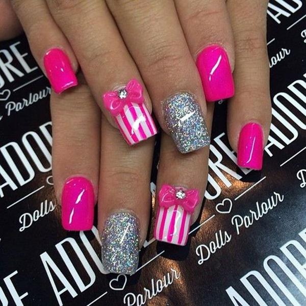 bow-nail-art-designs-7