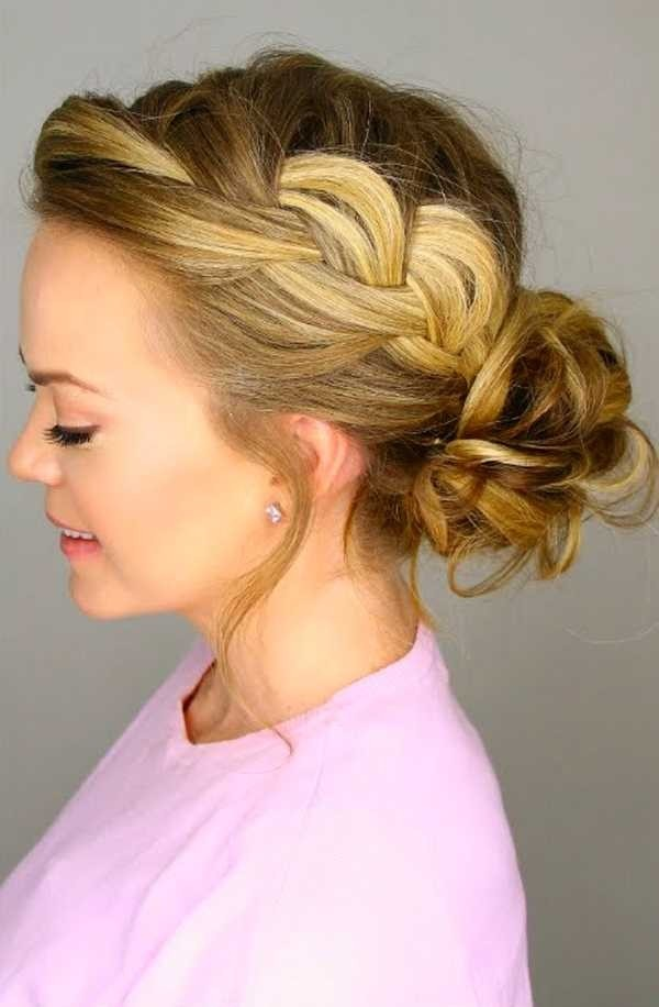 Messy Bun Hairstyles - Hairstyle in bun