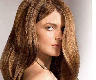 glowing hair